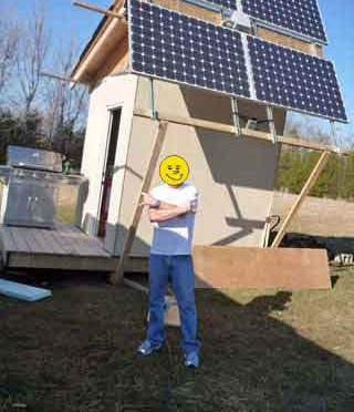 My off grid solar experiment
