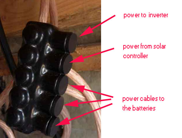 Simple improvements in bus bar and battery wiring can improve efficiency and longevity of your solar battery pack.